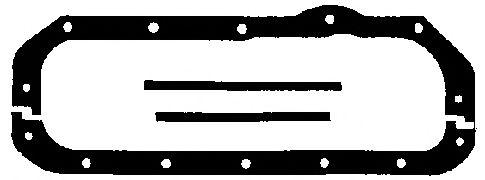 Прокладка, маслянный поддон ELRING арт. 008702