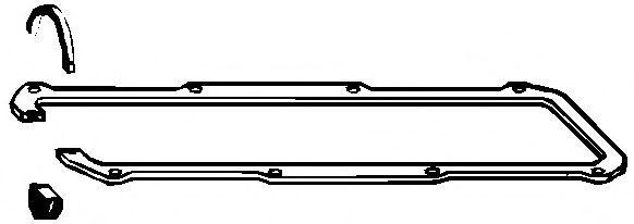 Комплект прокладок, крышка головки цилиндра ELRING арт. 104841