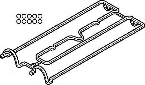 Комплект прокладок, крышка головки цилиндра ELRING арт. 058880