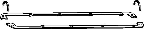 Комплект прокладок двигуна Elring 323889