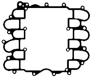 Прокладка, корпус впускного коллектора ELRING арт. 636530
