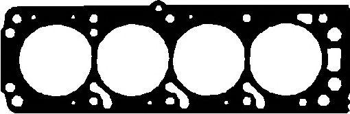 Прокладка, головка цилиндра ELRING арт. 646370