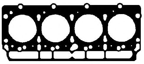 Прокладка, головка цилиндра ELRING арт. 646440