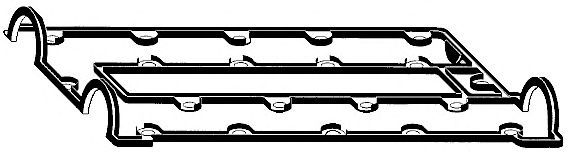 Прокладка, крышка головки цилиндра ELRING арт. 763853