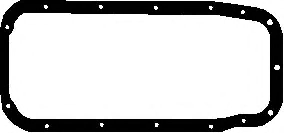 Прокладка поддона картера Авео 1.5/Ланос 1.5/Нексия Elring  ELRING арт.