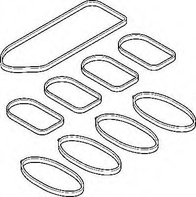 Комплект прокладок з різних матеріалів Elring 131820