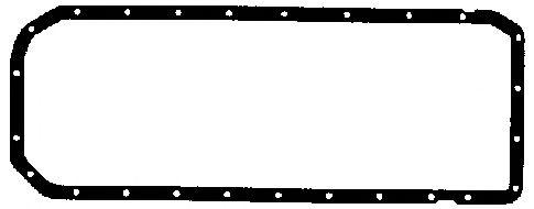 Прокладка, маслянный поддон ELRING арт. 811653