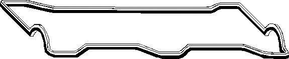 Прокладка, крышка головки цилиндра ELRING арт. 828211