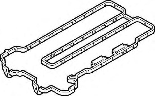Прокладка, крышка головки цилиндра ELRING арт. 104110