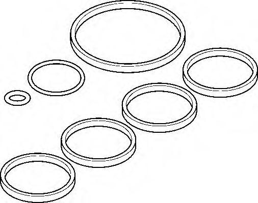 Комплект прокладок, впускной коллектор ELRING арт. 444760