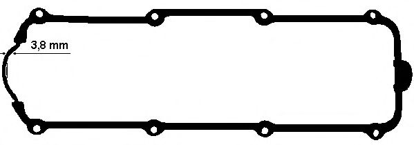 Прокладка, крышка головки цилиндра ELRING арт. 447050