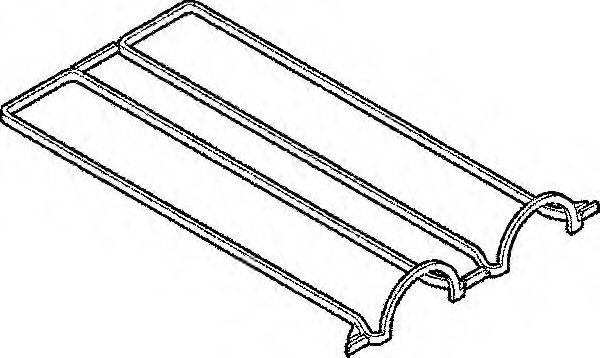 Прокладка, крышка головки цилиндра ELRING арт. 389110