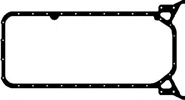 Прокладка, маслянный поддон ELRING арт. 490653