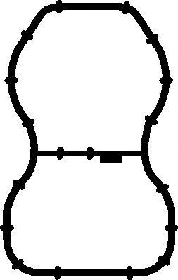 Прокладка, впускной коллектор ELRING арт. 584600