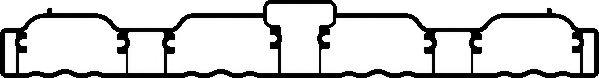 Прокладка, впускной коллектор ELRING арт. 655860