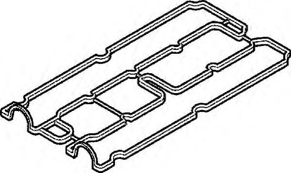 Прокладка, крышка головки цилиндра ELRING арт. 010370
