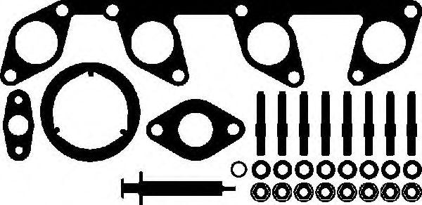 Комплект прокладок з різних матеріалів Elring 740790