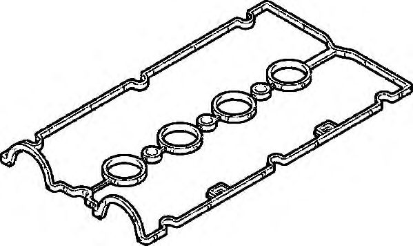 Прокладка, крышка головки цилиндра ELRING арт. 388200
