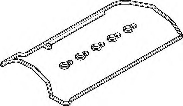 Комплект прокладок, крышка головки цилиндра ELRING арт. 330370
