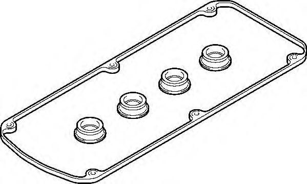 Комплект прокладок, крышка головки цилиндра ELRING арт. 376220