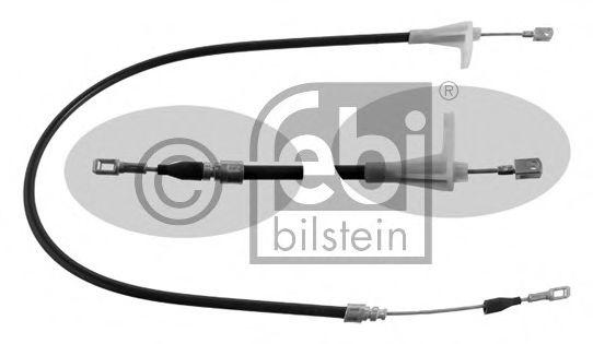 Трос, стояночная тормозная система FEBIBILSTEIN арт. 01666