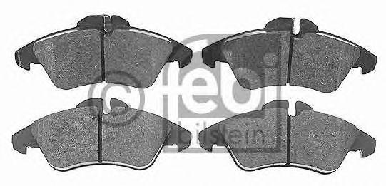 Комплект тормозных колодок, дисковый тормоз FEBIBILSTEIN арт.