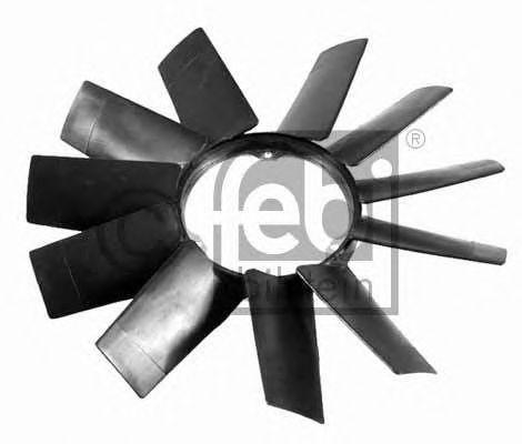 Крыльчатка вентилятора, охлаждение двигателя FEBIBILSTEIN арт. 19257