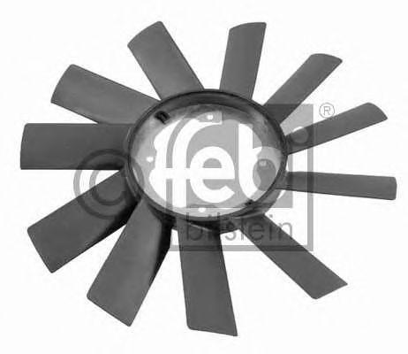 Крыльчатка вентилятора, охлаждение двигателя FEBIBILSTEIN арт.