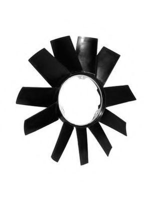 Крыльчатка вентилятора, охлаждение двигателя арт.