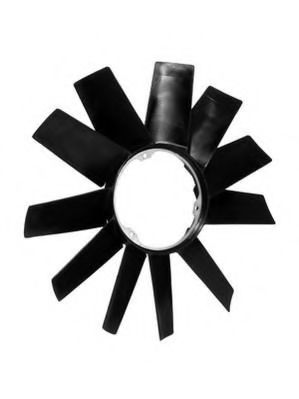 Крыльчатка вентилятора, охлаждение двигателя BERU арт.