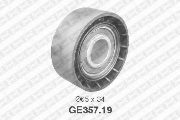 Паразитный / Ведущий ролик, зубчатый ремень SNR арт. GE35719