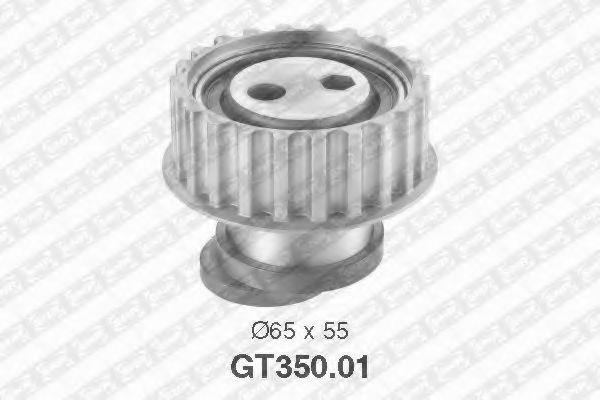 Натяжной ролик, ремень ГРМ SNR арт. GT35001