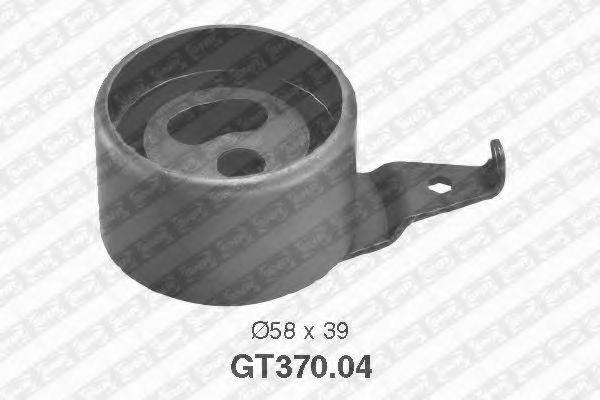 Натяжной ролик, ремень ГРМ SNR арт. GT37004