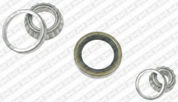 Комплект подшипника ступицы колеса SNR арт. R15108