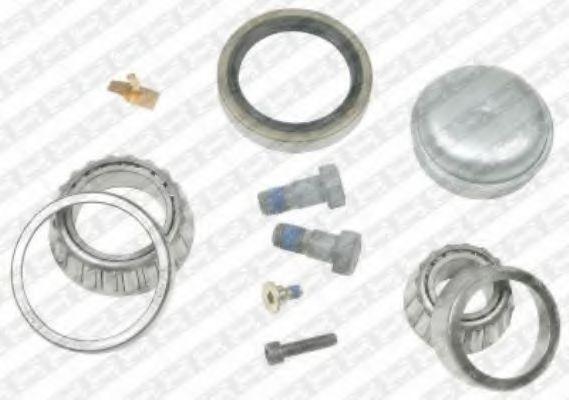 Комплект подшипника ступицы колеса SNR арт.