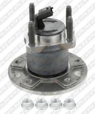 Комплект подшипника ступицы колеса SNR арт. R15349
