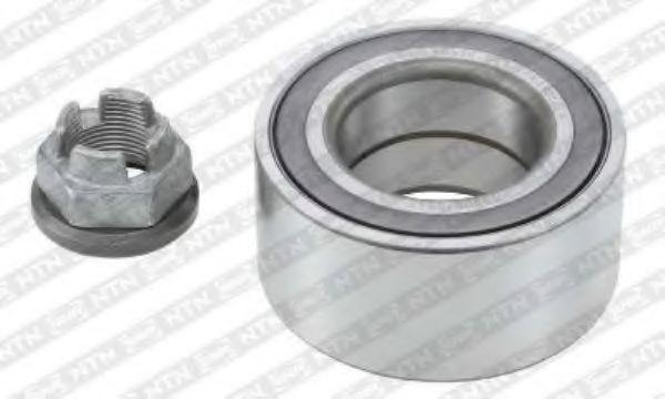 Комплект подшипника ступицы колеса SNR арт. R15533