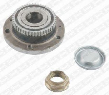Комплект подшипника ступицы колеса SNR арт. R15941