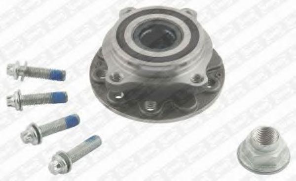 Комплект подшипника ступицы колеса SNR арт. R16033