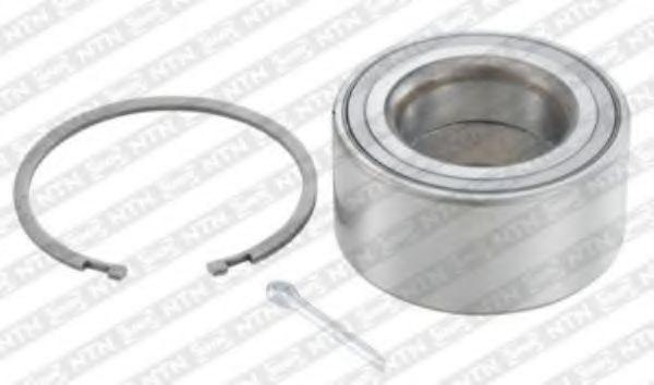 Комплект подшипника ступицы колеса SNR арт. R16863