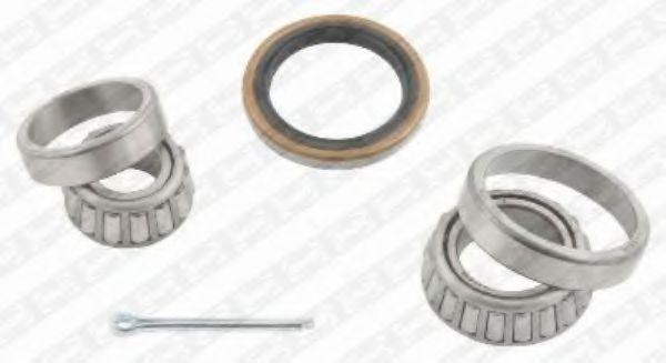 Комплект подшипника ступицы колеса SNR арт. R17300