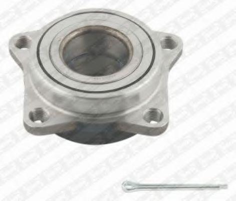 Комплект подшипника ступицы колеса SNR арт. R17325