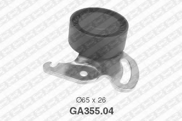 Натяжной ролик, поликлиновой  ремень SNR арт. GA35504