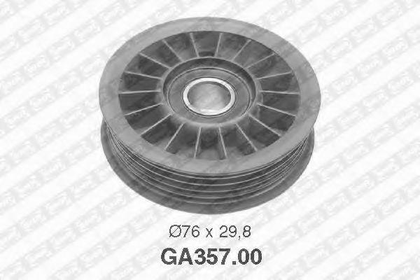Натяжной ролик, поликлиновой  ремень SNR арт. GA35700