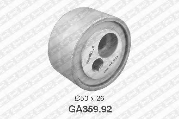 Натяжной ролик, поликлиновой  ремень SNR арт. GA35992