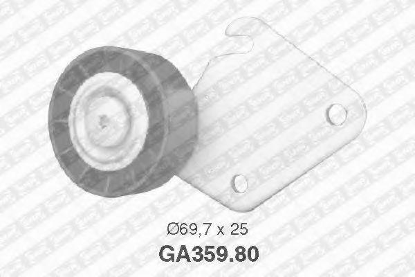 Паразитный / ведущий ролик, поликлиновой ремень SNR арт. GA35980