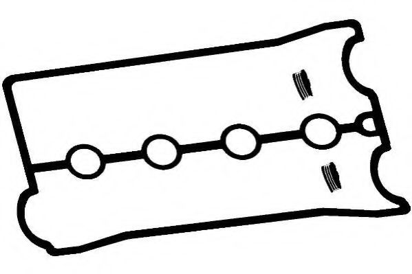Комплект прокладок, крышка головки цилиндра PAYEN арт. HM5226