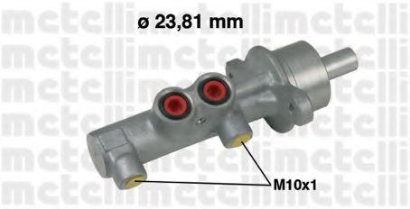 Циліндр гальмівний головний Metelli 050539