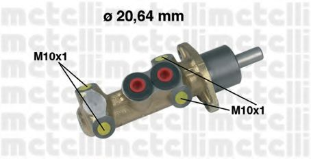 Главный тормозной цилиндр Metelli - 050044