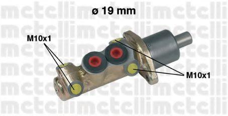Циліндр гальмівний головний Metelli 050061